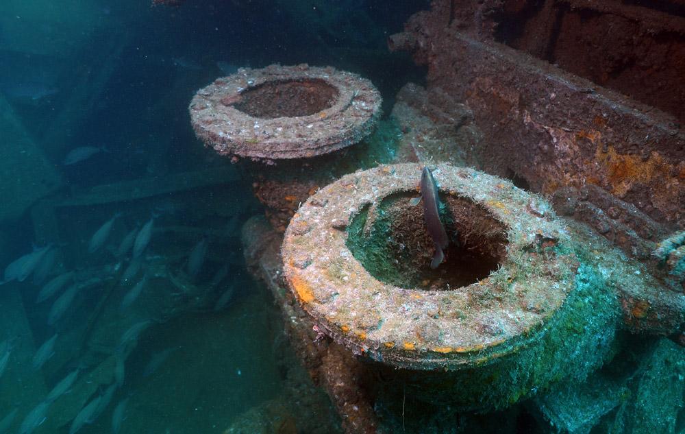 Diving USS Mohawk